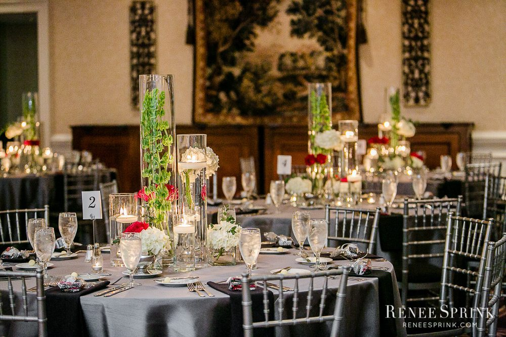 Fresh affairs wedding florist raleigh durham garner areas glassware composites junglespirit Images